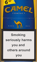 Camel Compact Blue Cigarette Pack