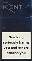 Kent Mode silver Cigarette Pack