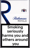 Rothmans Royals KS Blue Cigarette Pack