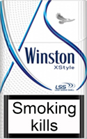 Winston XStyle Blue Cigarette Pack