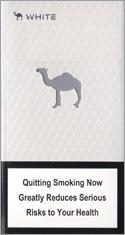 Camel White Super Slims 100s Cigarette Pack