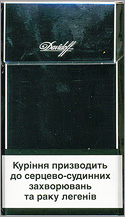 Davidoff Black Cigarette Pack