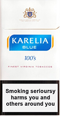 Karelia Blue 100s Cigarette Pack