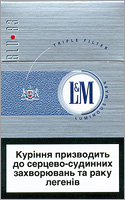 L&M BLU 83 Slims Cigarette Pack