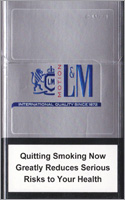 L&M Motion Silver (mini) Cigarette Pack