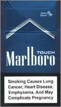 Marlboro Touch (dark-blue) Cigarette Pack