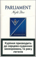Parliament Full Flavor (Night Blue) Cigarette Pack