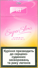 R1 Super Slims Summer Cocktail 100's Cigarette Pack