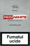 Red&White Super Slims Shine Cigarette Pack
