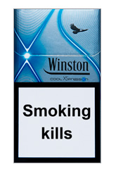 Winston XSpression Cool Cigarette Pack