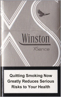 Winston XSence White (mini) Cigarette Pack