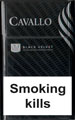 Cavallo Black Velvet Cigarette pack