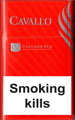 Cavallo Vulcano Red Cigarette pack
