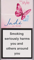 Style Jade Super Slims Rose Cigarette pack
