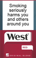 West Red Beyond Cigarette pack
