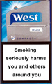 West duo compact+ Cigarette pack