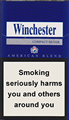 Winchester Compact Silver Cigarette pack