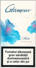 Glamour Super Slims Azure 100's Cigarette pack