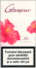 Glamour Super Slims Lilac 100's Cigarette pack
