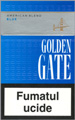 Golden Gate Blue Cigarette pack