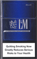 L&M Motion Blue (mini) Cigarette pack