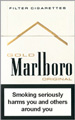 Marlboro Lights (Gold) Cigarette pack