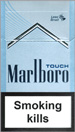 Marlboro Touch (light-blue) Cigarette pack