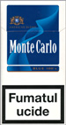 Monte Carlo Blue 100's Cigarette pack