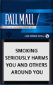 Pall Mall Blue (Lights) Cigarette pack