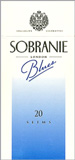 Sobranie Slims Blues 100's Cigarette pack