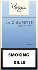 Vogue Super Slims Bleue 100s Cigarette pack