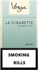 Vogue Super Slims Menthol 100s Cigarette pack