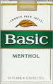 BASIC FULL FLAVOR MENTHOL SP KING