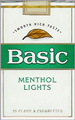 BASIC LIGHT MENTHOL SP KING