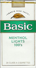 BASIC LIGHT MENTHOL SP 100