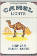 CAMEL LIGHT BOX KING