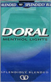 DORAL LIGHT MENTHOL KING