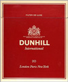 DUNHILL INTERNATIOAL-RED
