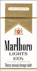 MARLBORO LIGHT BOX 100