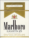 MARLBORO LIGHT BOX KING 25'S