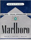 MARLBORO MENT BLUE BX 72MM
