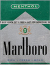 MARLBORO MENT GREEN BX 72MM