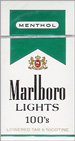 MARLBORO MENT LIGHT BOX 100