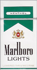 MARLBORO MENT LIGHT BOX KING