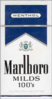 MARLBORO MENT MILDS 100 BOX
