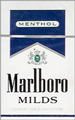 MARLBORO MENT MILDS BOX KING