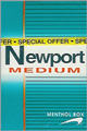 NEWPORT MEDIUM BOX 80 KING