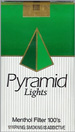 PYRAMID LIGHT MENTHOL 100